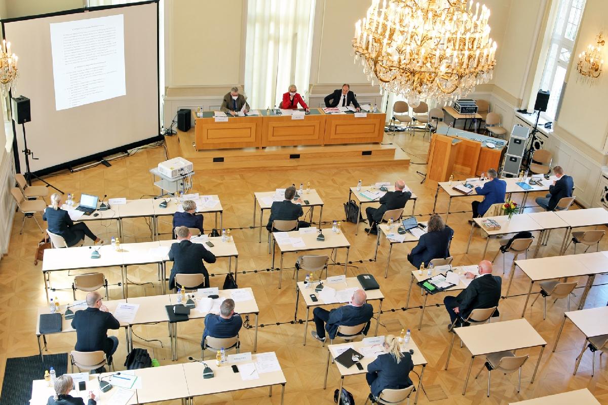 Bilder von der RBA-Sitzung im Lausitzer Revier
